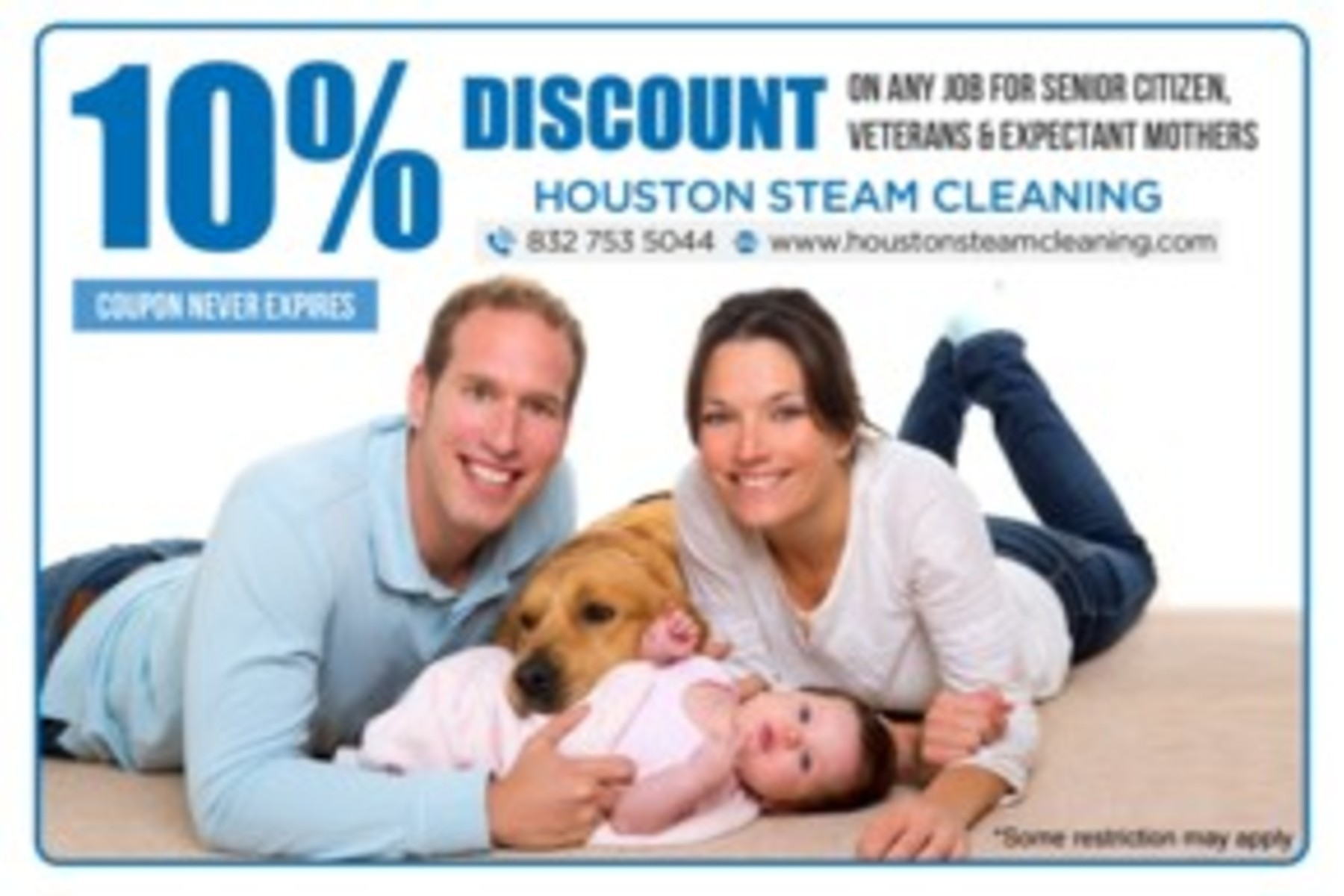 10% off any cleaning service