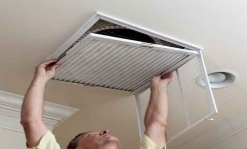 Professional cleaning air duct