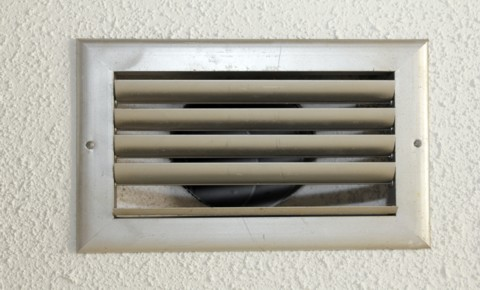 What is hiding behind the air duct vent
