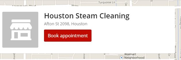 Schedule steam cleaning appointment